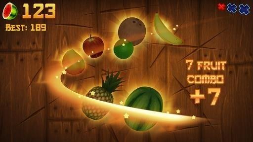 Скриншот Fruit Ninja для Android