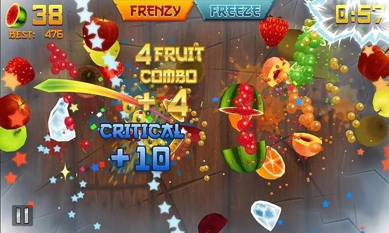 Скриншот Fruit Ninja Classic для Android