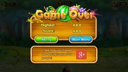 Скриншот Fruit Shoot для Android