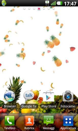 Скриншот Фрукты Live Wallpaper для Android