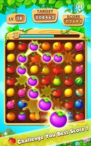 Скриншот Фрукты Всплеск — Fruits Splash для Android