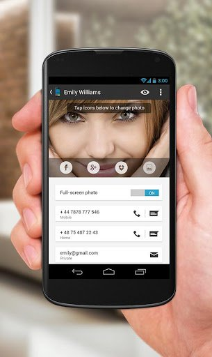 Скриншот Full Screen Caller ID — BIG! для Android