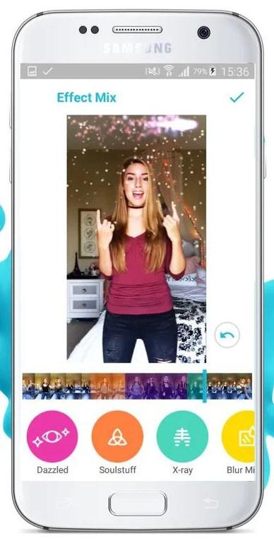 Скриншот Funimate Video Effects Editor для Android
