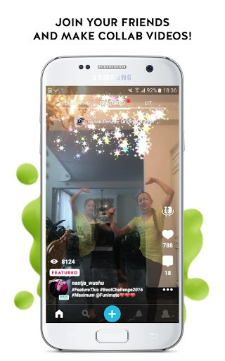 Скриншот Funimate Video Effects Editor для Android