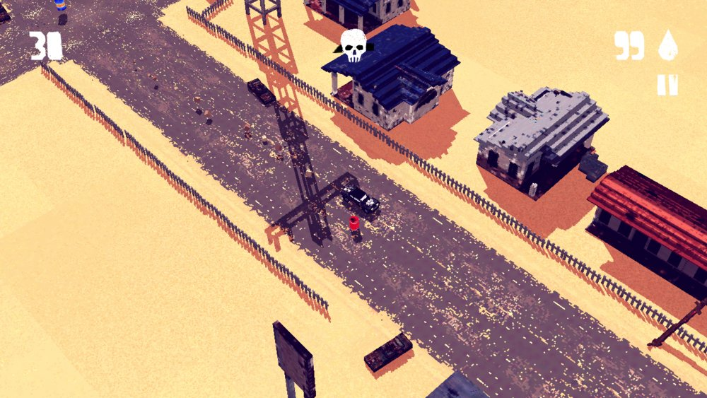 Скриншот Fury Roads Survivor для Android