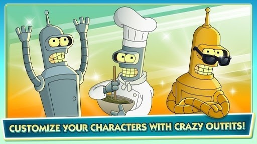 Скриншот Futurama: Game of Drones для Android