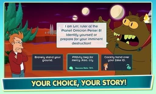 Скриншот Futurama: Game of Drones для Android