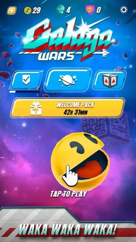Скриншот Galaga Wars для Android