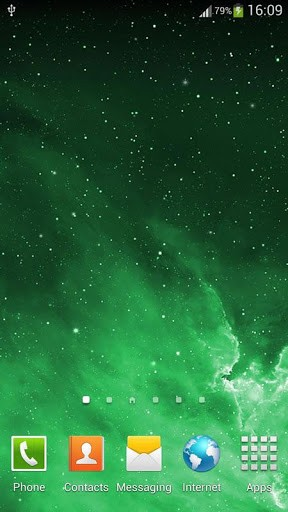 Скриншот Галактика Parallax живые обои для Android