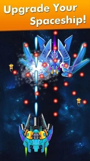Скриншот Galaxy Attack: Alien Shooter для Android
