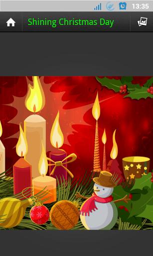 Скриншот GALAXY S4 рождественские обои для Android