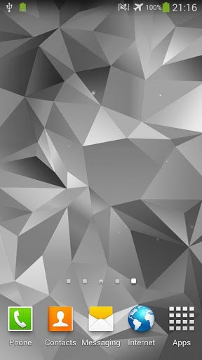 Скриншот Galaxy S5 живые обои для Android