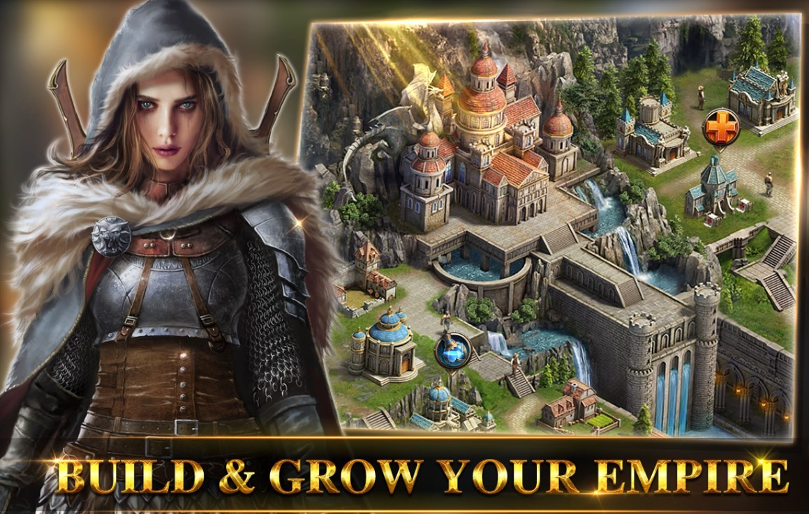 Скриншот Game of Kings: The Blood Throne для Android