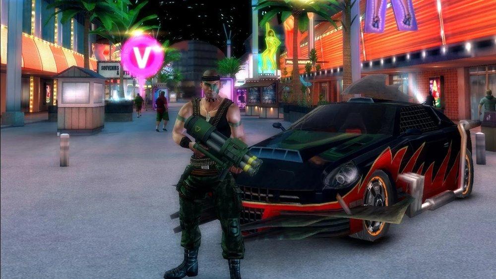 Скриншот Gangstar Vegas для Android