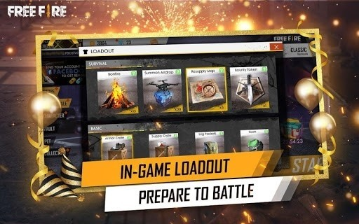 Скриншот Garena Free Fire для Android