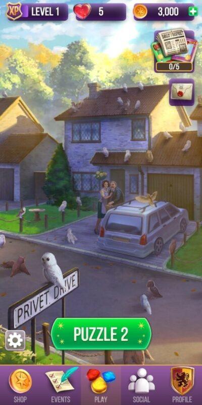 Скриншот Гарри Поттер: магия и загадки для Android