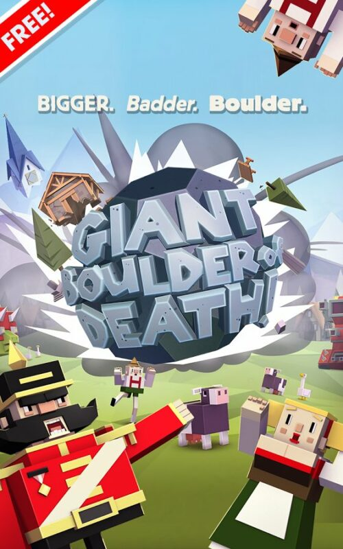 Скриншот Giant Boulder of Death для Android