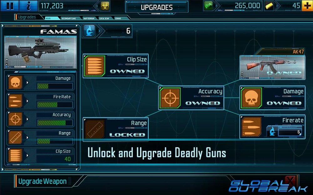Скриншот Global Outbreak для Android