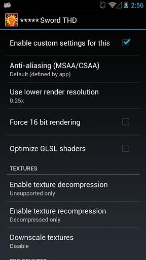 Скриншот GLTools для Android