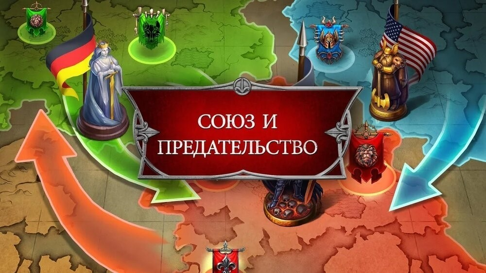 Скриншот Gods and Glory для Android