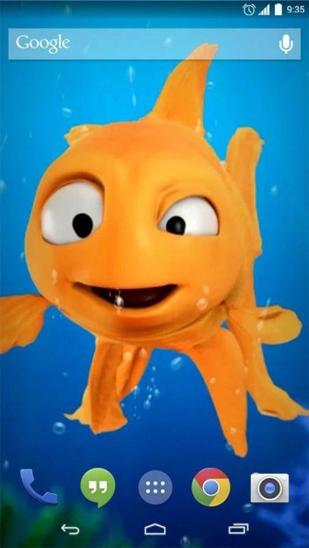 Скриншот Gold Fish для Android