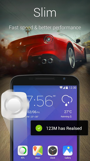 Скриншот GO лончер EX:Тема & Обои для Android