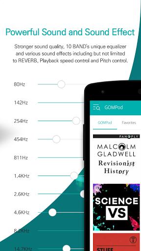 Скриншот GOM Audio для Android
