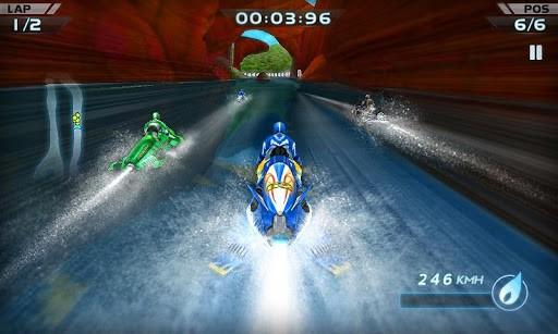 Скриншот Гонки водных мотоциклов 3D для Android
