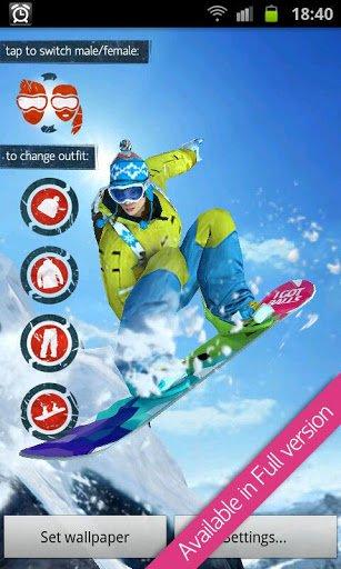 Скриншот Good Point: Snowboarding Free для Android