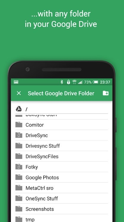 Скриншот Google Drive Sync для Android