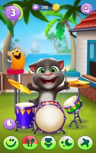 Скриншот Говорящий кот Том 2 для Android