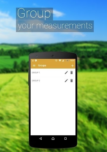 Скриншот GPS Fields Area Measure для Android