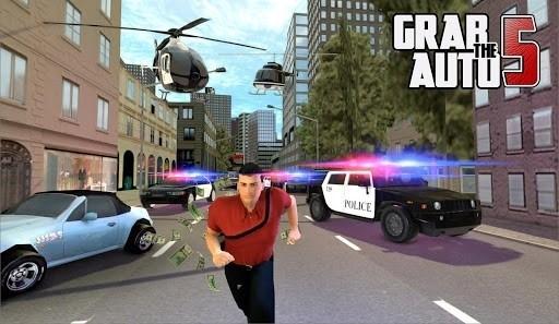 Скриншот Grab The Auto 5 для Android