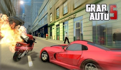 Скриншот Grab The Auto 5 для Android