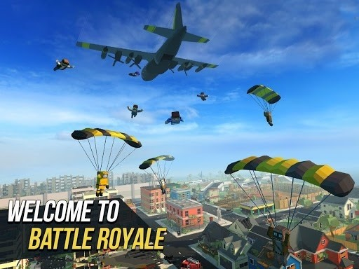 Скриншот Grand Battle Royale для Android