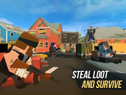 Скриншот Grand Battle Royale для Android