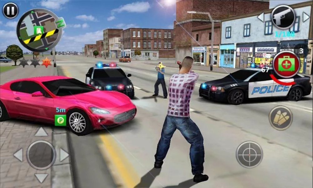 Скриншот Grand Gangsters для Android