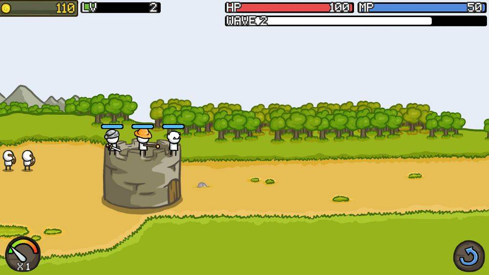 Скриншот Grow Castle для Android