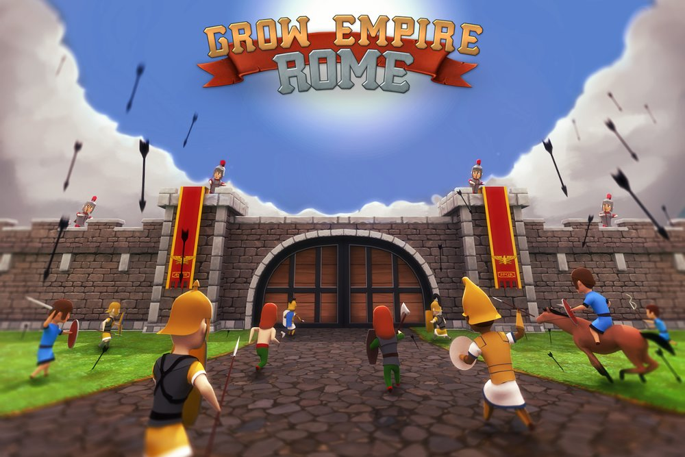 Скриншот Grow Empire: Rome для Android