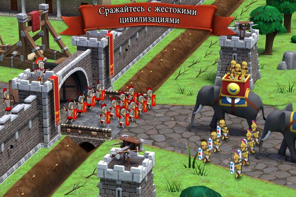 Скриншот Grow Empire: Rome для Android