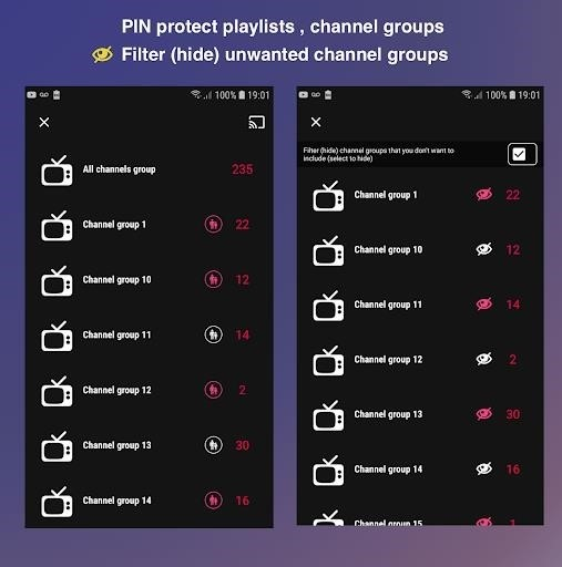 Скриншот GSE SMART IPTV для Android
