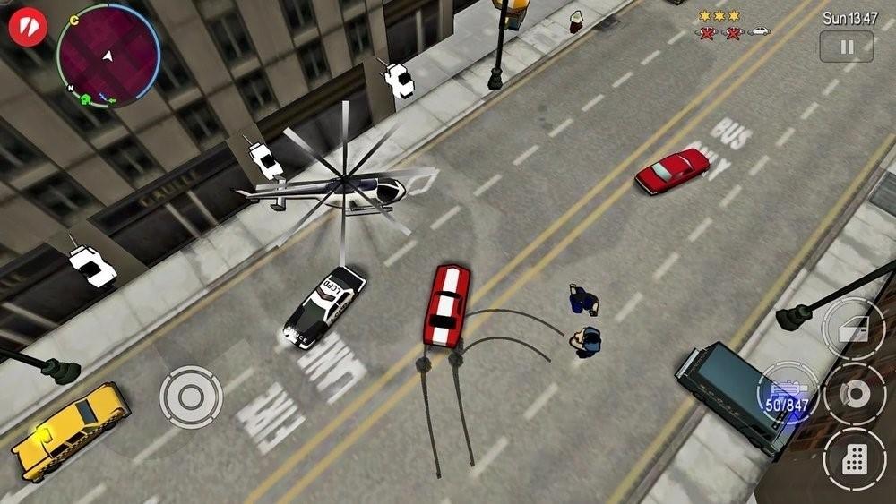 Скриншот GTA: Chinatown Wars для Android