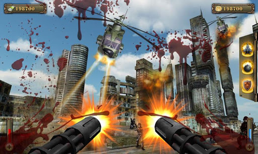 Скриншот Gunship Counter Shooter 3D для Android