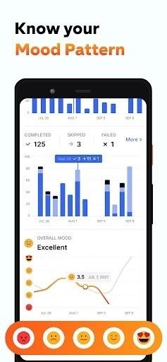 Скриншот Habitify: Трекер привычек для Android
