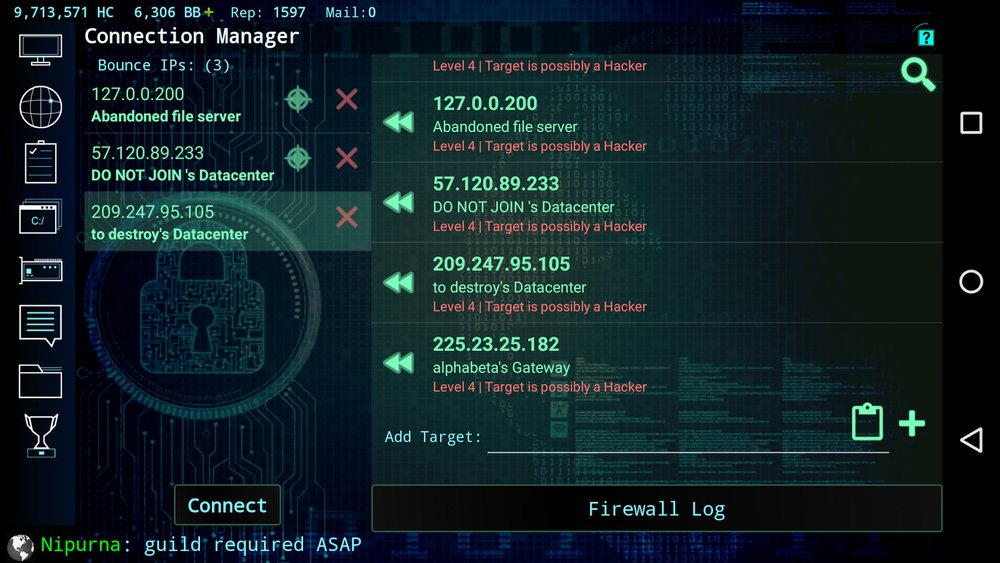 Скриншот Hackers: Hacking simulator для Android