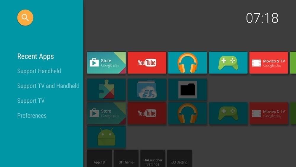 Скриншот HALauncher Android TV для Android