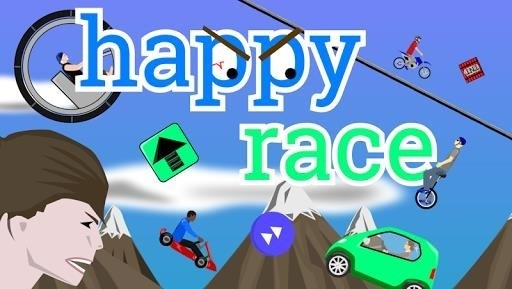 Скриншот Happy Race для Android