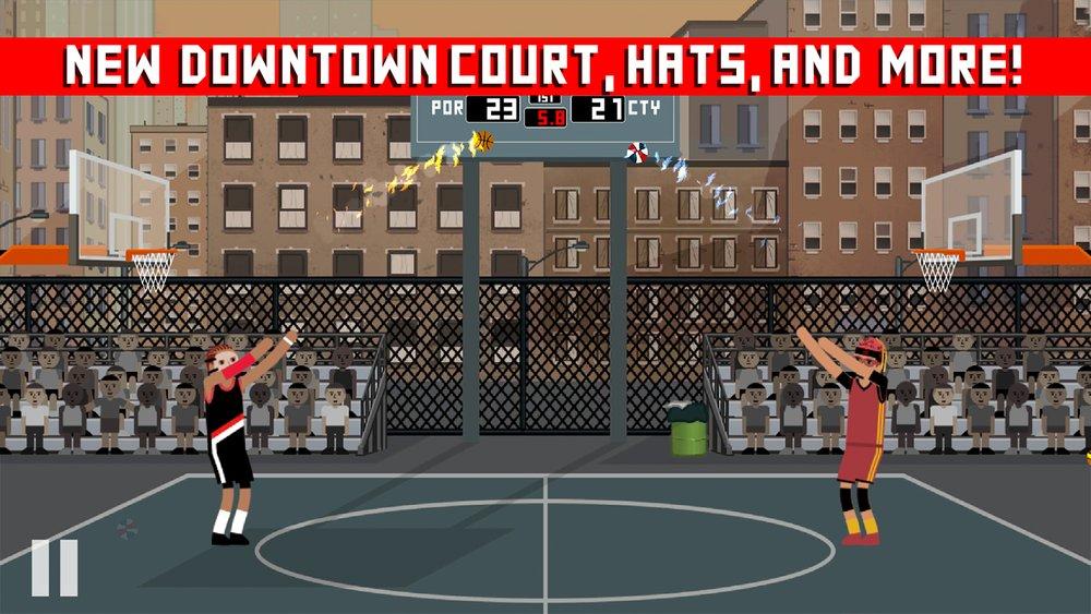 Скриншот Hardwood Rivals Basketball для Android