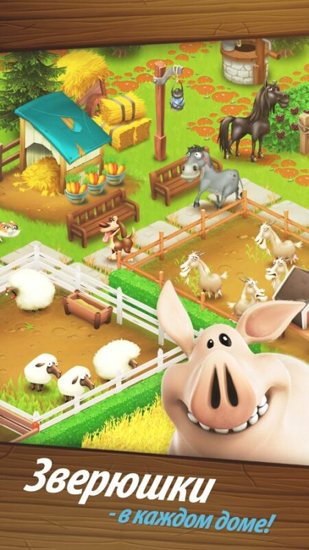 Скриншот Hay Day для Android