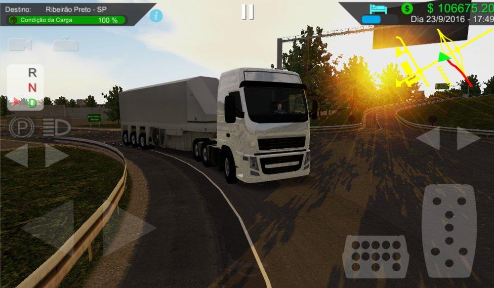 Скриншот Heavy Truck Simulator для Android